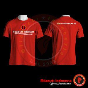 kaos member milanisti indonesia